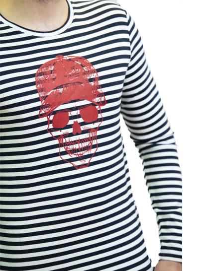 T-shirt à rayure - Little Marcel